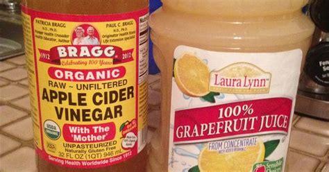 Grapefruit Juice And Apple Cider Vinegar Detox by This Really Works Grapefruit Juice And 2 Tsp Of Apple