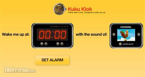 kukuklok  alarm clock designed  wake