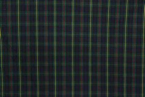 plaid tartan tartan plaid fabric green navy yellow red the fabric mill