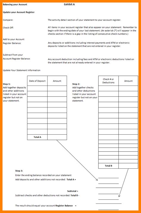 uncategorized balancing a checkbook worksheet
