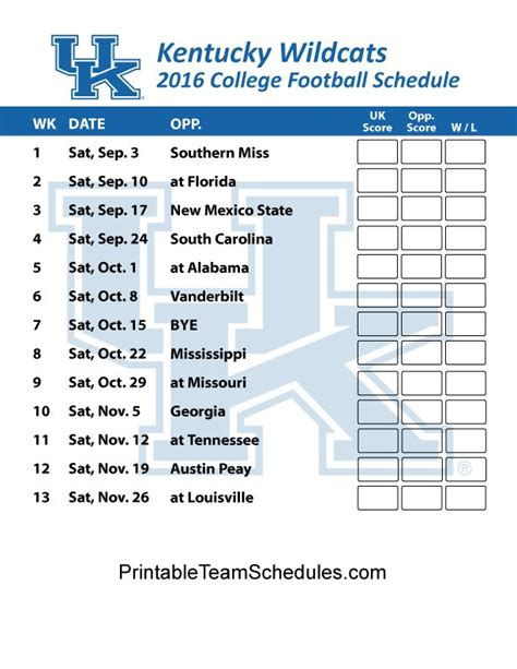 printable uk schedule 1000 images about sec football college team schedules on