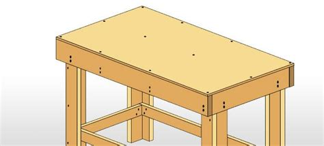 step  step guide    build  work bench diy