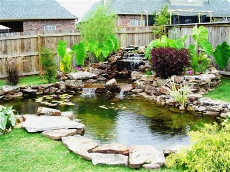backyard koi ponds what you need to know about garden koi ponds
