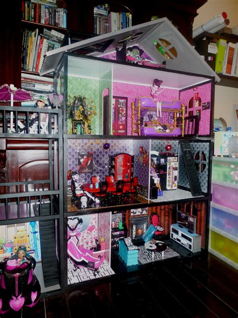 monster high houses dyi monster high house pic 1 monster high dolls com