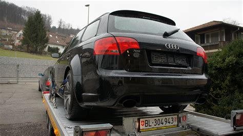 Audi Rs4 Unfall by Tots Parts