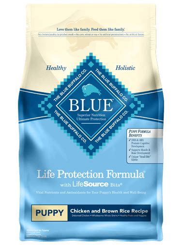 blue puppy food protection formula 174 puppy food chicken brown rice recipe