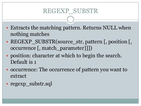 pattern matching sql sql for pattern matching oracle 12c