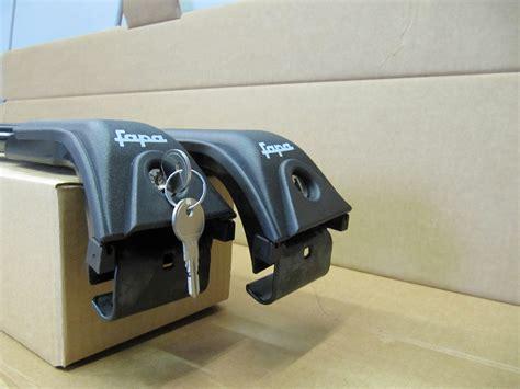 box auto fapa barre portatutto per auto con reling standard corrimano