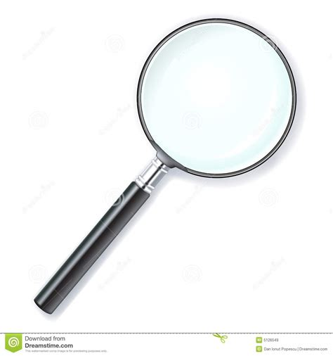 Len Glas by Magnifying Lens Royalty Free Stock Images Image 5126549