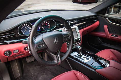 2016 maserati quattroporte interior review 2016 maserati quattroporte s q4 canadian auto review