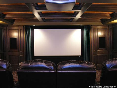 traditional home theater   large  projector
