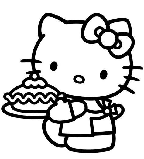 imagenes de kitty blanco y negro 18 dibujos o im 225 genes de hello kitty para colorear