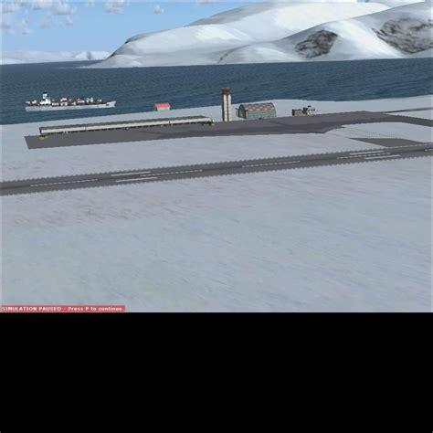 fsx airport design editor x longyearbyen airport scenery for fsx