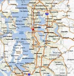 Map Of Seattle Area by Gameon Na 2010 August 25 27 2010 Digipen Institute Of