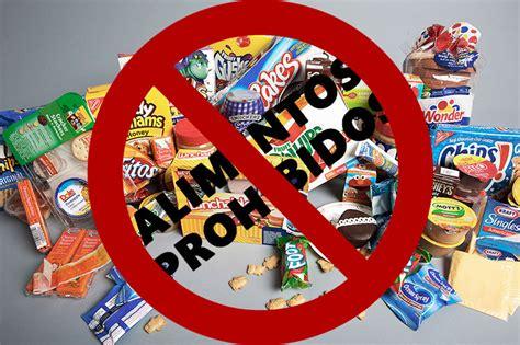 alimentos prohibidos dieta dieta lipof 237 dica 250 gratis y alimentos permitidos la
