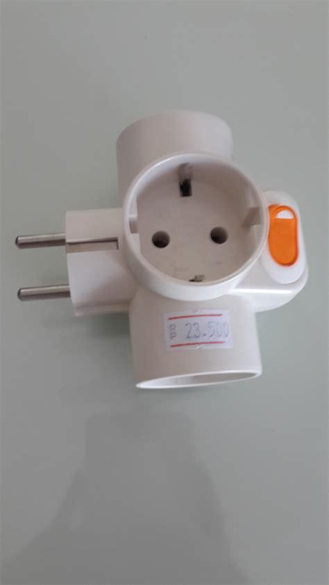 Murah Uticon Sc 38 Stop Kontak Steker jual steker listrik t switch uticon sc 382 harga murah