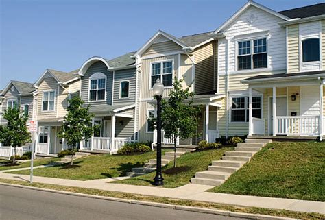 what is a townhome townhouse pictures images and stock photos istock