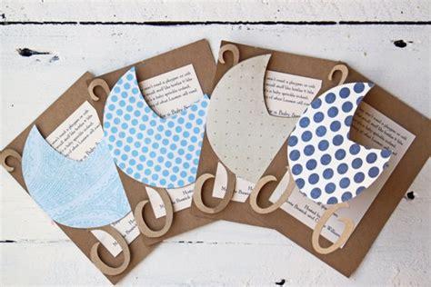 Baby Shower Handmade Invitations - diy baby shower invitations ideas to make at home