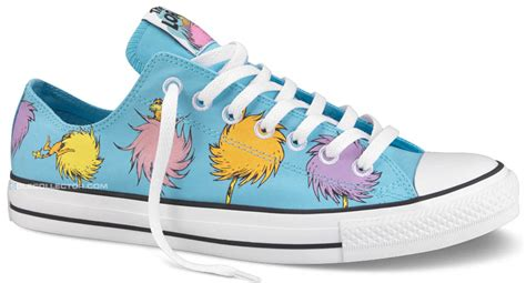 Converse Dr Seuss The Lorax Shoes Toodler dr seuss x converse chuck all the lorax collection sole collector