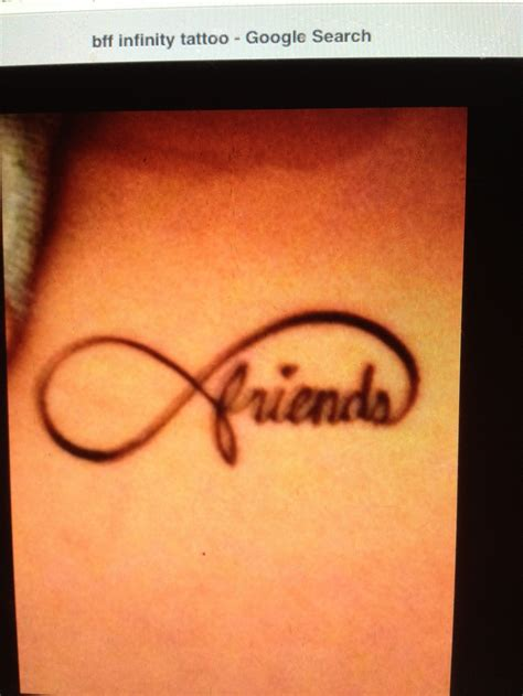best friends infinity sign friends infinity i want it to be blue with a