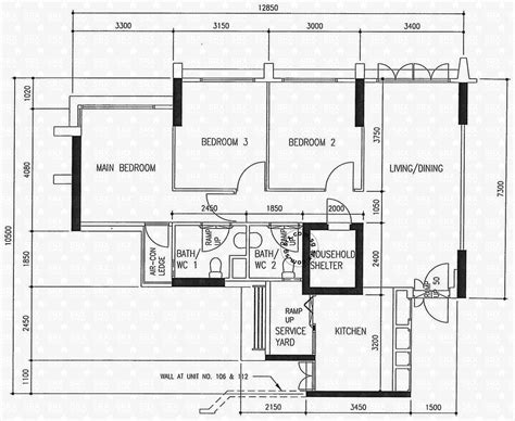 floor plan hdb floor plans for compassvale lane hdb details srx property