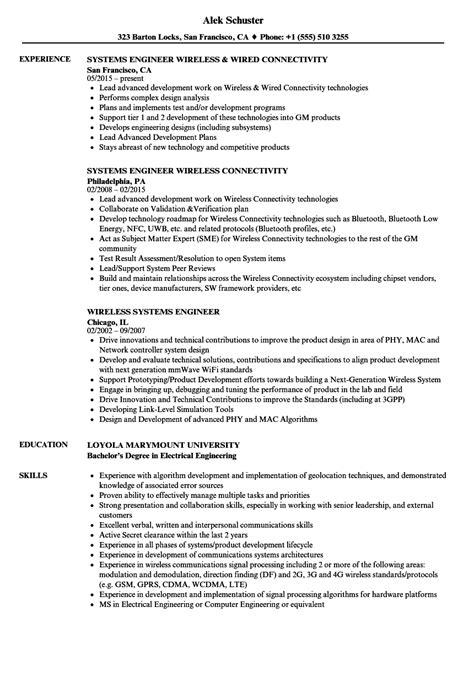 instrumentation engineer sample resume best of fresh experience