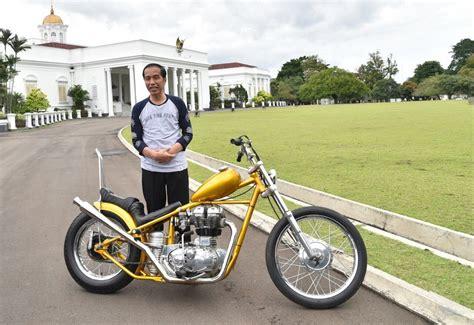 Indonesia Modifikasi Motor by Aksi Jokowi Dengan Motor Modifikasi Chopperland Tuai