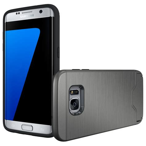 Acc Card Slot Samsung Galaxy A710 Hardcase Cover Armor A7 2 credit card slot kickstand cover stand for samsung galaxy s7 edge ebay