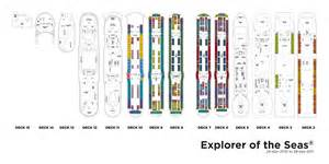 explorer of the seas deck 9 deck plan explorer of the