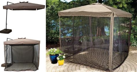 Patio Umbrellas Big Lots Big Lots 20 Your Entire Purchase Wilson Fisher Umbrella With Netting Only 143 99