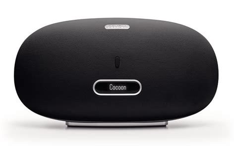 Cocoon Tubular Ipod Dock by Denon Dsd500bk Cocoon Airplay Speaker With 30