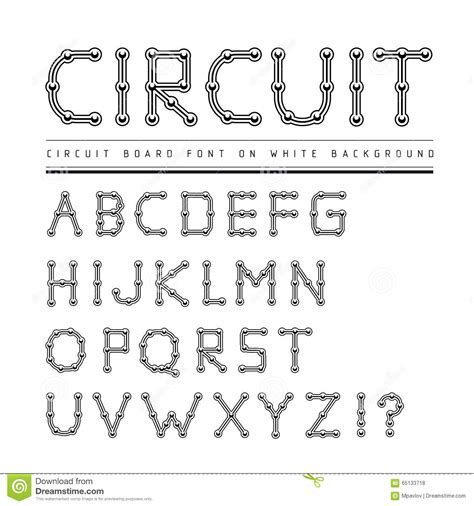 dafont electric circuit font www pixshark com images galleries with a