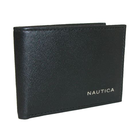 Bifold Wallet mens leather weatherly slim passcase bifold wallet by