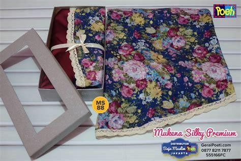 Mukena Premium jual mukena silky premium poeti ms88