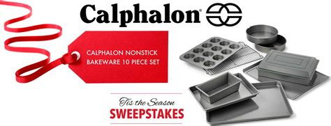 Calphalon Sweepstakes - calphalon tis the season bakeware sweepstakes familysavings
