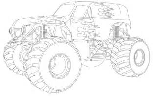 grave digger coloring pages trucks truck coloring pages for boys