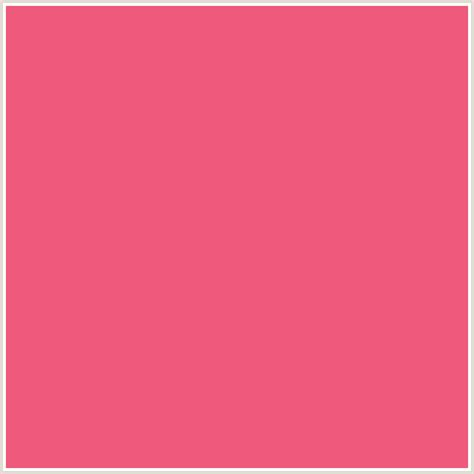 Colors That Go With Salmon by Ef597b Hex Color Rgb 239 89 123 French Rose Red