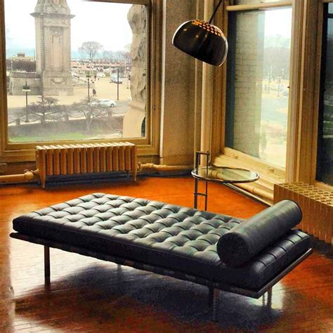 barcelona day bed knoll barcelona day bed relax material life