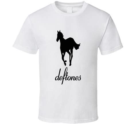 New Deftones Rock Band new deftones white pony rock band logo s white t shirt