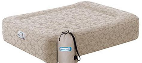 new aerobed air mattress height bed built in ebay