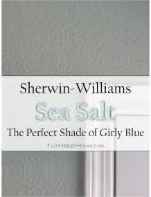 sherwin williams sea salt coordinating colors sherwin williams sea salt the shade of girly blue