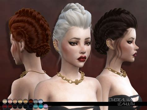 sims 4 hair ethereal hair by leah lillith at tsr 187 sims 4 updates