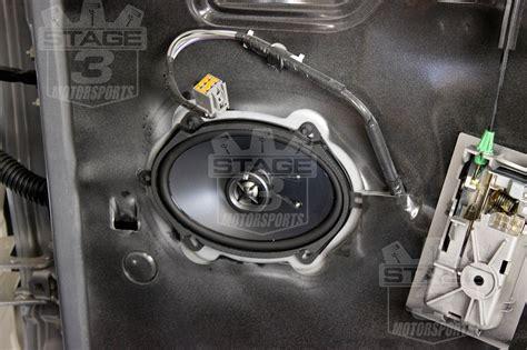 crewcab kicker door speaker upgrade