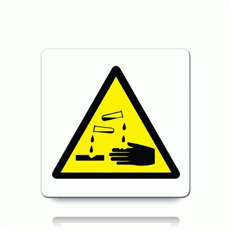 Etiketten Zeichen by Buy Corrosive Symbol Labels Danger Warning Stickers