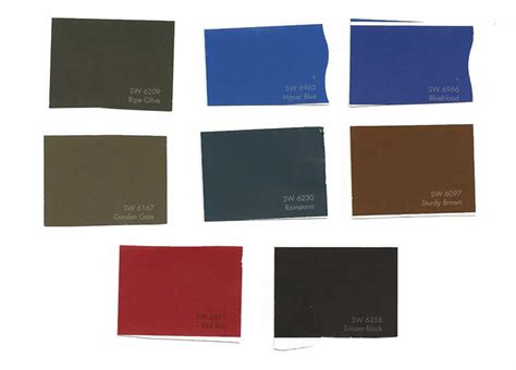 sherwin williams exterior colors