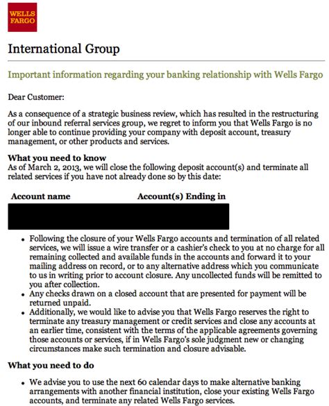 Bank Letterhead Fargo The Wrong Way To You Customers Lessons From Fargo Customerthink