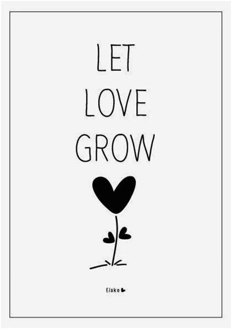 love grow elske