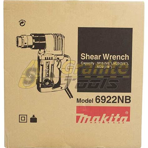 Makita Shear Wrench 6922 Nb makita 3 4 quot shear wrench 6922nb usa granite tools