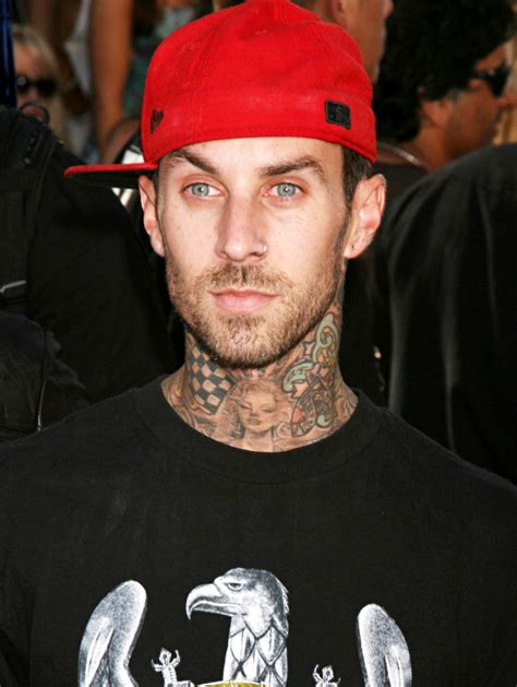 aceshowbiz  travis barker honors dj   tribute tattoo