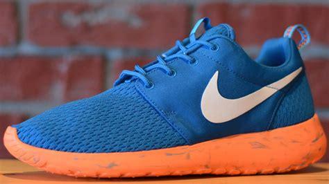 Nike Roshe Run Blue Orange roshe run black blue orange www imgkid the image